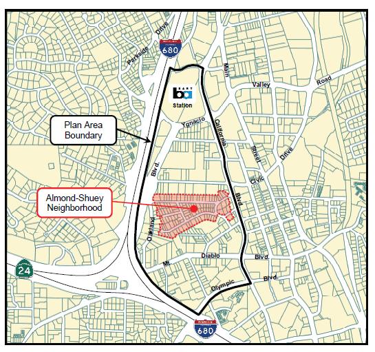 Proposed West Spec Plan Area
